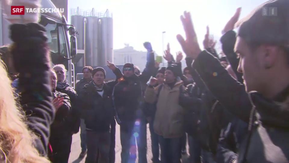Streik in Mendrisio