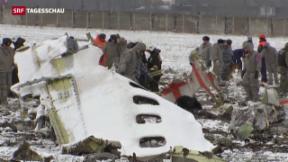 Video «Flugzeugabsturz in Süd-Russland» abspielen