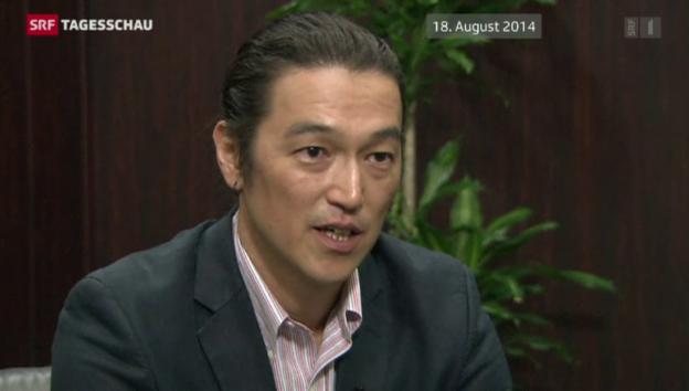 Video «IS tötet zweite japanische Geisel» abspielen