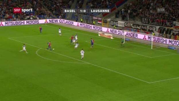 Video «SL: Basel - Lausanne» abspielen