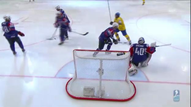 Video «Eishockey-WM: Schweden - Slowenien» abspielen