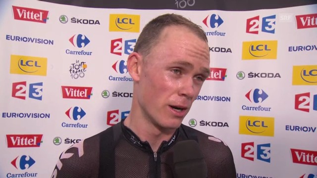 Chris Froome im Interview («sportlive»)