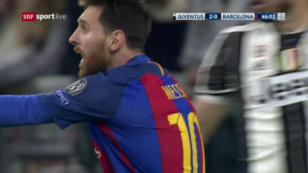 Messi scheitert sinnbildlich