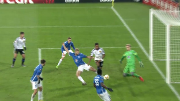 Video «Fussball: Highlights Posen - Basel» abspielen