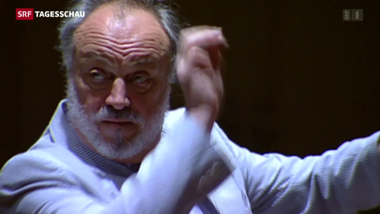 Dirigent Kurt Masur ist gestorben