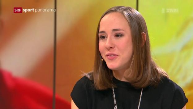 Video «Hallen-Europameisterin Selina Büchel zu Gast im Studio» abspielen