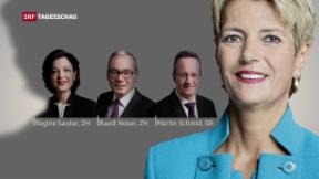 Video «Karin Keller-Sutter will Bundesrätin werden» abspielen