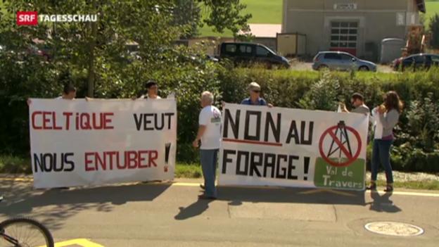Video «Neues Erdgas-Projekt sorgt für Unruhe» abspielen
