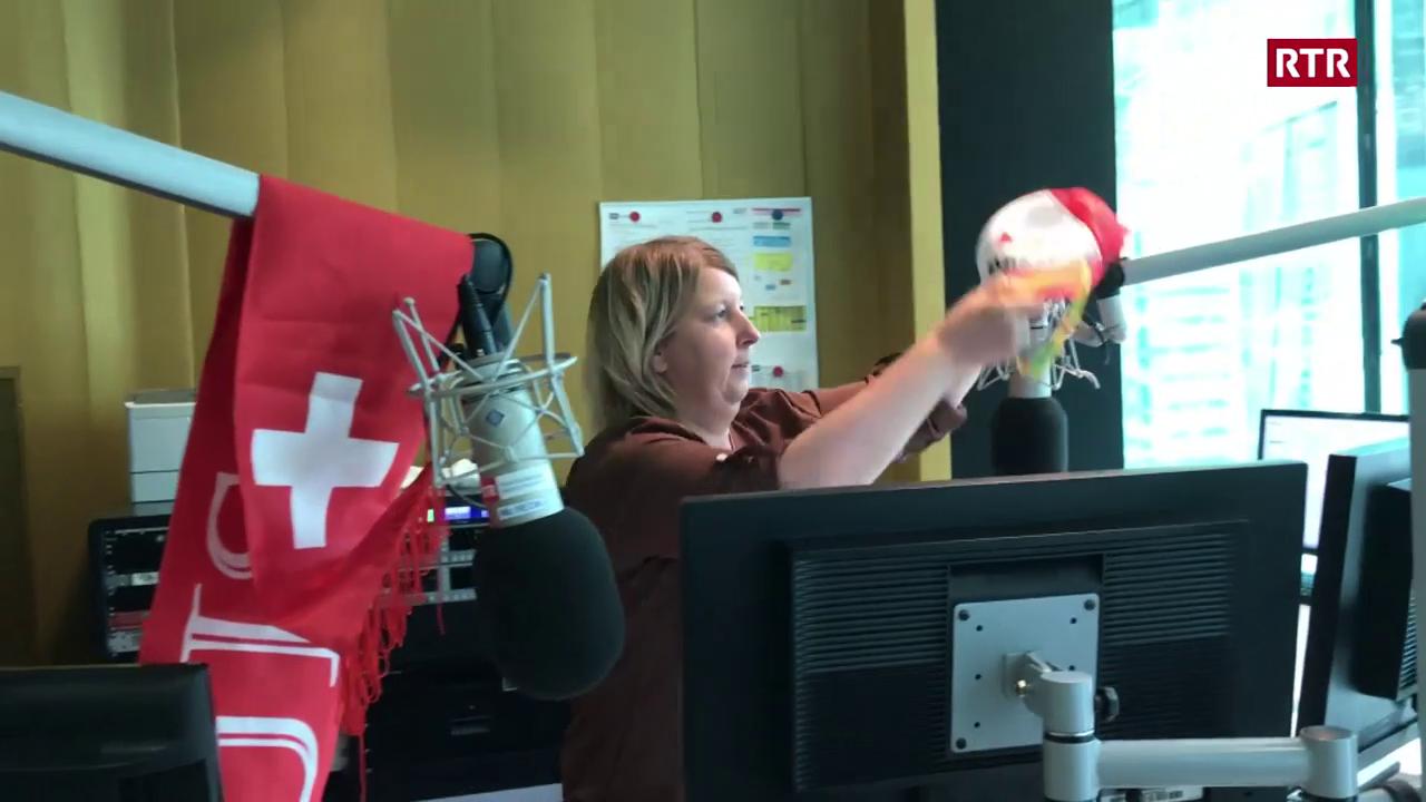 Balla-baterlada: la canorta sportiva cun Georgina