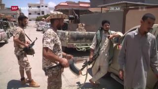 Video «Erster US-Angriff auf IS-Hochburg » abspielen