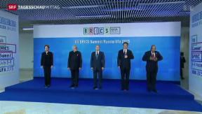 Video «Treffen der BRICS Staaten» abspielen