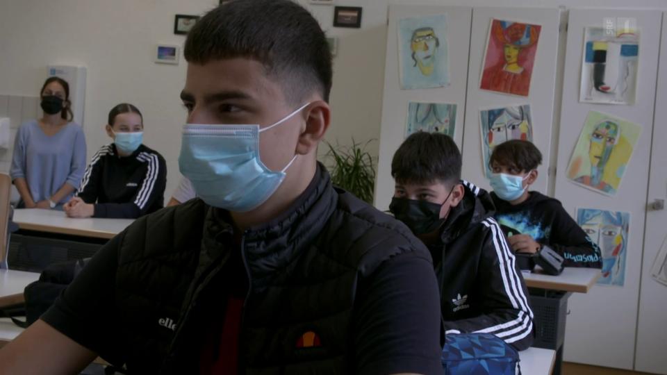 Aus dem Archiv: Corona-Zone Schule und die Angst der Eltern
