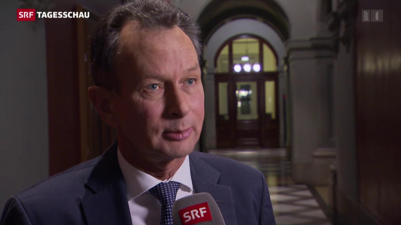 FDP-Präsident Philipp Müller