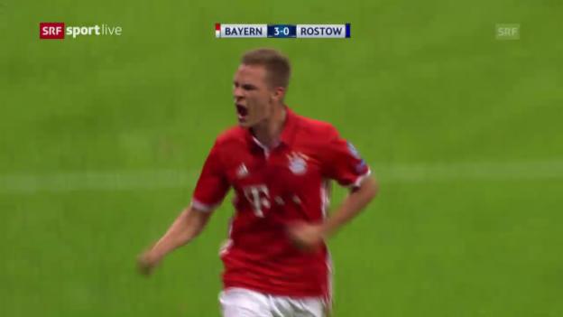 Video «Bayern: Kimmich stellt gestandene Stars in den Schatten» abspielen