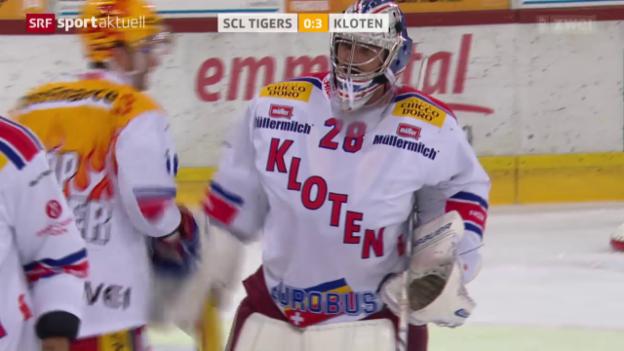 Video «Eishockey: SCL Tigers-Kloten» abspielen