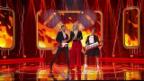 Video «Lipsync-Battle: Isabella Schmid & Laura Zubriggen» abspielen