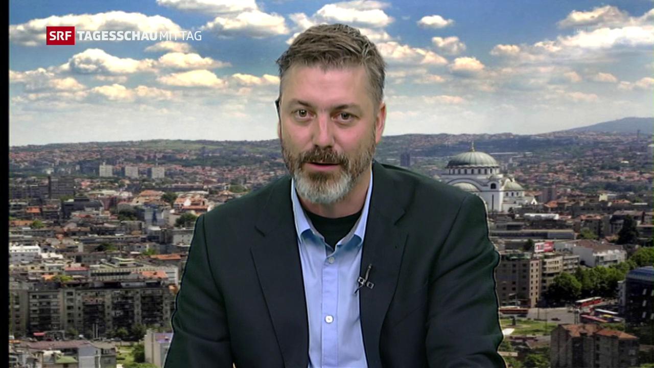 Georg Häsler über die Unterstützung für Vucic