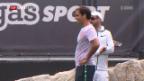 Video «Federer macht sich startklar für die Rasensaison» abspielen