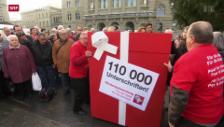 Video «110'000 Unterschriften für die Verdingkinder» abspielen
