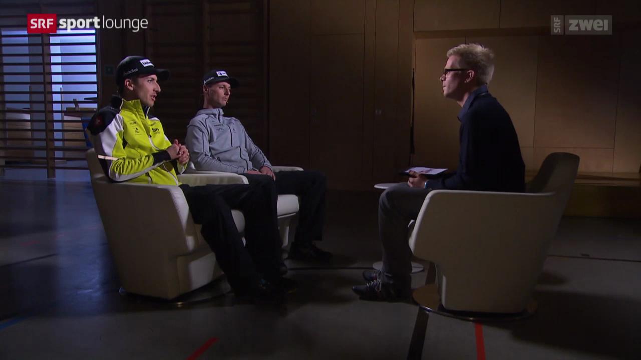Skispringen: Simon Ammann und Martin Künzle im Gespräch