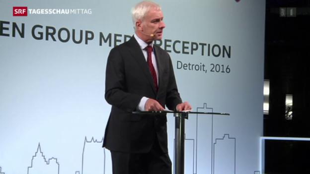 Video «VW-Chef entschuldigt sich in den USA» abspielen