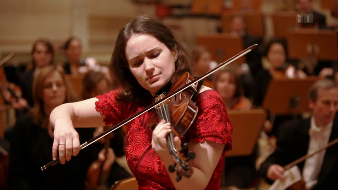 Geigen-Virtuosin triumphiert am «Schweizer Musikpreis»