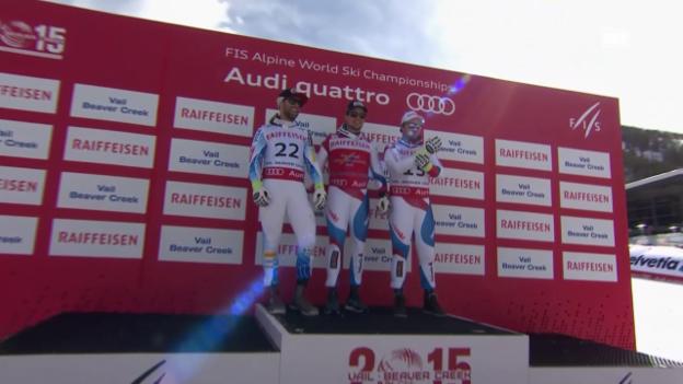 Video «Ski: Saisonbilanz Schweizer Abfahrer» abspielen