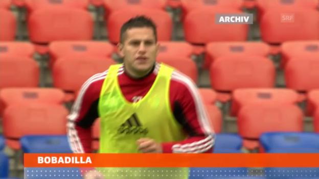 Video «Der FC Basel suspendiert Raul Bobadilla» abspielen