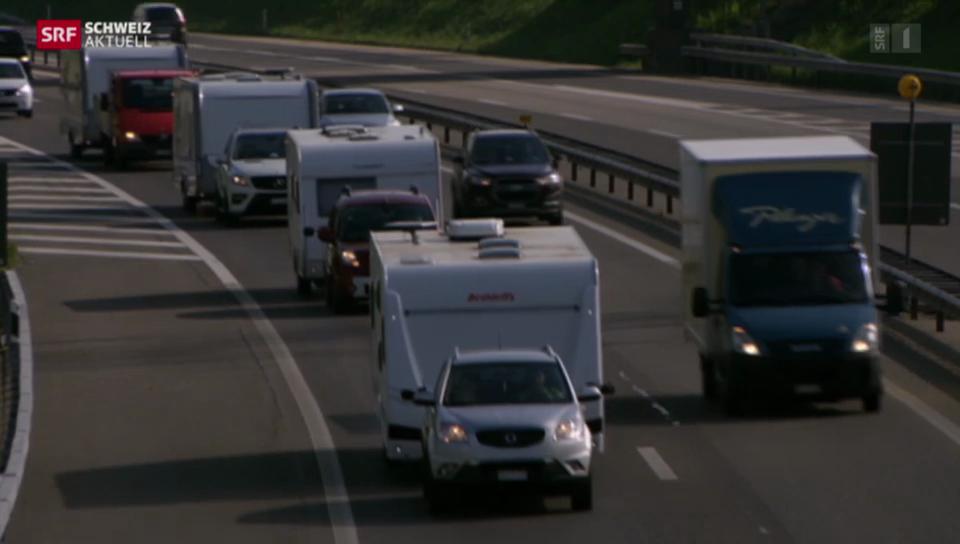 Fahrende demonstrieren in Bern