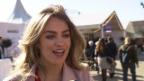 Video «Jennifer Bosshard: Die neue Moderatorin als rasende Reporterin» abspielen