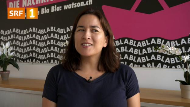 Video «Emily Engkent über ihre Sprachschwierigkeiten» abspielen