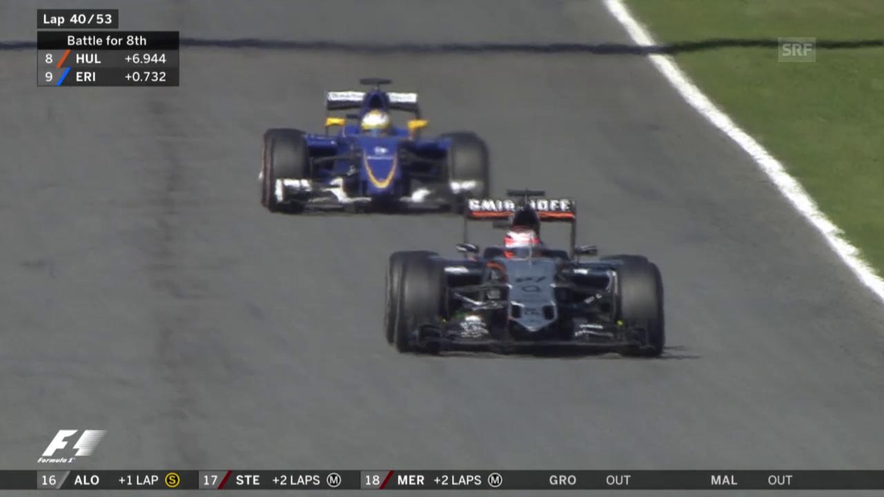 Formel 1: Das Duell Ericsson vs. Hülkenberg
