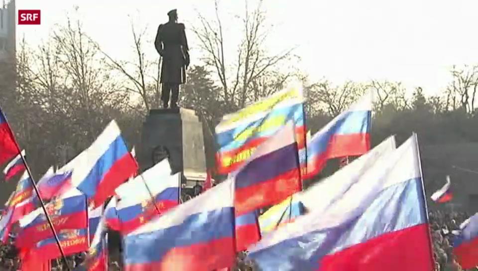 Separatistische Strömungen im Osten der Ukraine