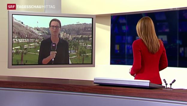 Video «SRF-Korrespondentin Ruth Bosshart zur fragilen Situation» abspielen