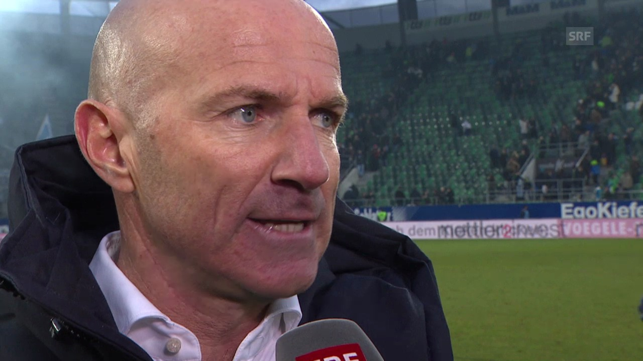 Fussball: Super League, Interview Carlos Bernegger («sportlive», 02.03.2014)