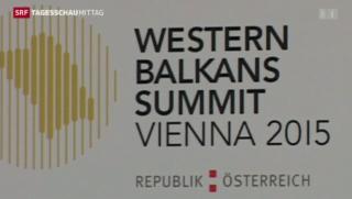 Video «Westbalkan-Konferenz » abspielen