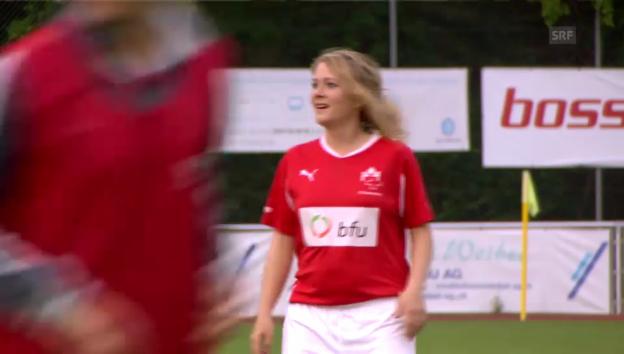 Video «Vier Damen verstärken den FC Nationalrat» abspielen