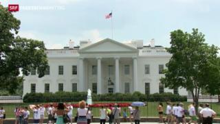 Video «Sicherheit im Weissen Haus bereitet Obama Sorgen» abspielen