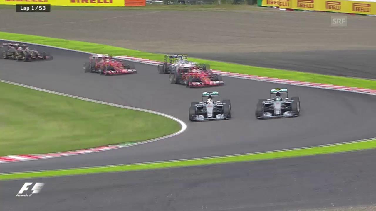 Formel 1: GP Japan, Start