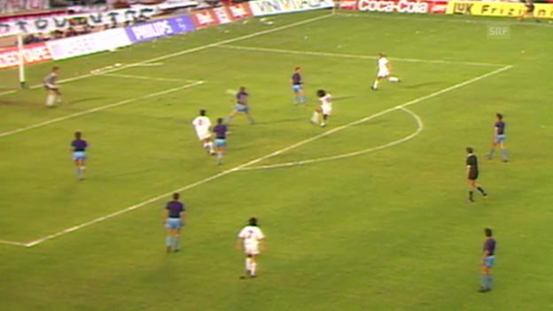 Video «Steaua im Final gegen die AC Milan 1989» abspielen