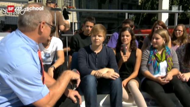Video «Treffpunkt Bundesplatz: Live-Interview (6/11)» abspielen