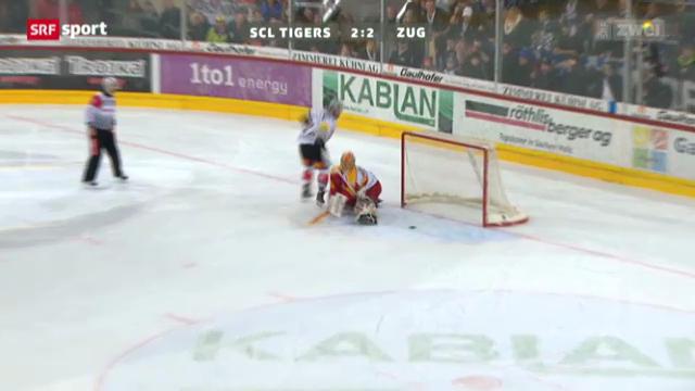 Eishockey: Zetterbergs Penalty-Tor gegen Langnau