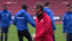 Video «Fussball: Der FC Zürich vor dem SL-Spiel gegen St. Gallen» abspielen