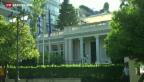 Video «Neue Regierung in Griechenland» abspielen