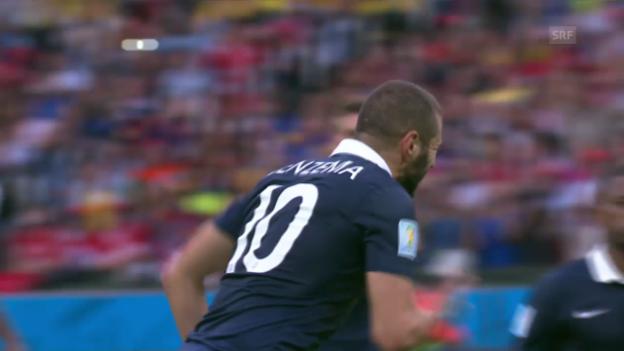 Video «Spielbericht Frankreich - Honduras» abspielen