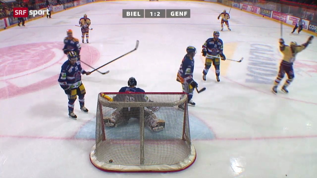 Eishockey: Biel - Genf