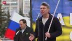 Video «Weltweites Entsetzen über Mord an Nemzow» abspielen