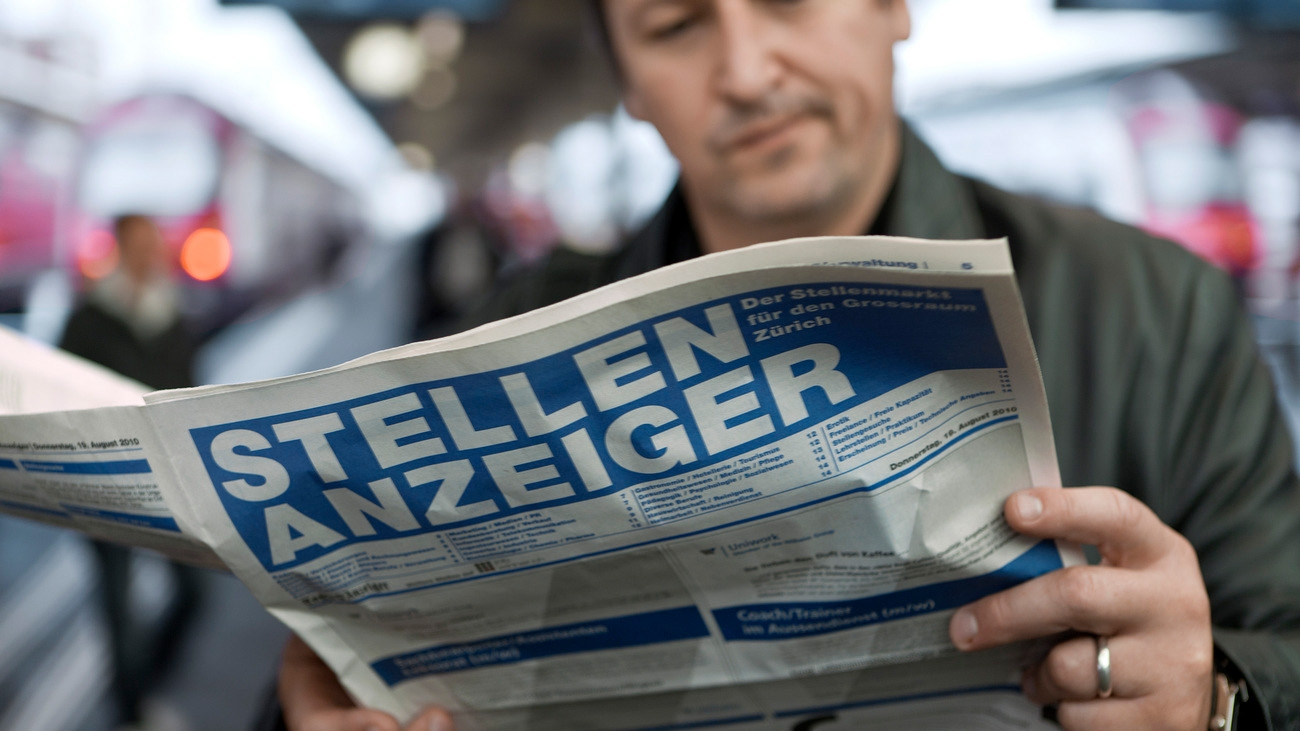 Werner Aeberhard vom Seco zu den neusten Arbeitslosenzahlen