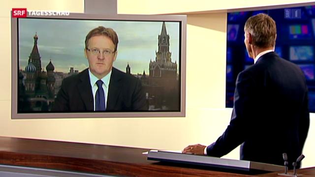 Einschätzung Christof Franzen, Korrespondent SRf, Moskau