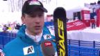 Video «Ski: WM, Hannes Reichelt Interview nach 1. Training Abfahrt» abspielen